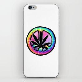 Peace Leaf iPhone Skin