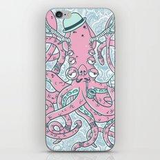 The Gentleman Squid iPhone & iPod Skin