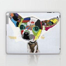 Chihuahua Colorful Dog POP Art Collage Laptop & iPad Skin