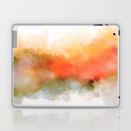 Soft Marigold Pastel Abstract Laptop & iPad Skin