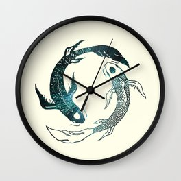 Balance in the Universe Wall Clock
