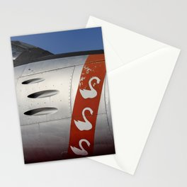 F-86E Sabre Flying Swans Stationery Cards