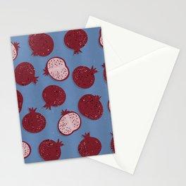 Pomegranate Art - Fruit, Pomegranate Pattern Stationery Cards
