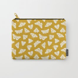 White Moths Carry-All Pouch