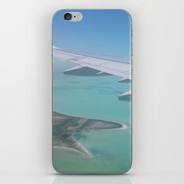 Arriving in Paradise iPhone Skin