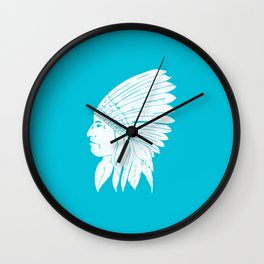 Chief / White Edition Wall Clock