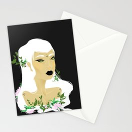 Girl Swamp Stationery Cards