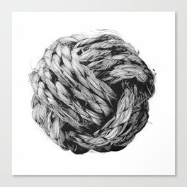 Monkey Fist Canvas Print