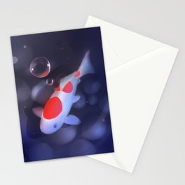Kohaku Koi Fishu Stationery Cards