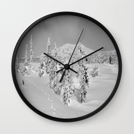 Winter day 2 Wall Clock