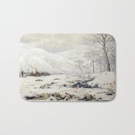 Battlefield at the Shipka Pass Bath Mat