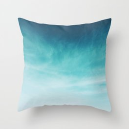 Magical Blues Throw Pillow