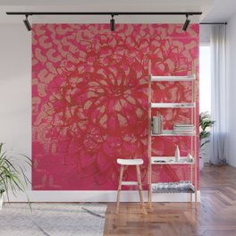 Mums the Word Wall Mural