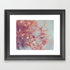 January Fog Framed Art Print