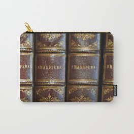 Shakespeare books Carry-All Pouch