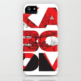 Kaboom iPhone Case