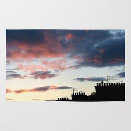 Tenement Sunset  Rug