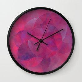 Schnittmengen der Berührung Wall Clock