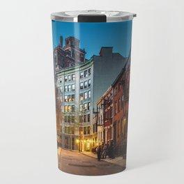 Twilight Hour - West Village, New York City Travel Mug