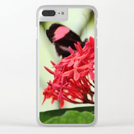 Postman Dining Clear iPhone Case
