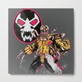 Fear Me! Metal Print