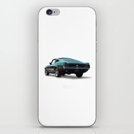 Bullitt - Alternative Movie Poster iPhone Skin
