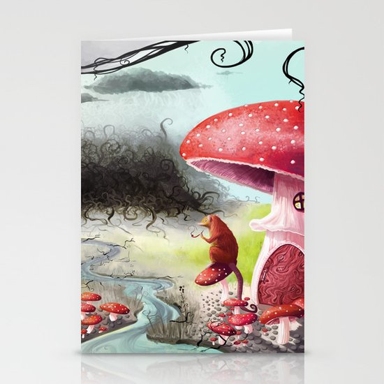 Infected Mushrooms Stationery Cards