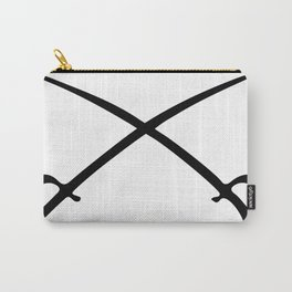 Crossed Sabres Carry-All Pouch