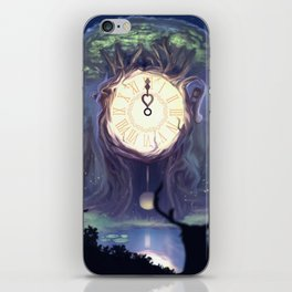 The Time iPhone Skin