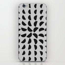 Half Moon Pattern iPhone Skin