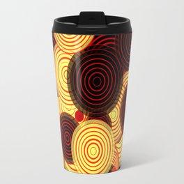 Layered circles Travel Mug