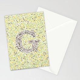 """""""G"""" Eye Test Full Stationery Cards"""