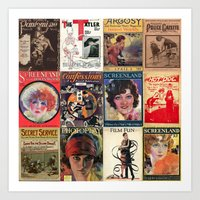 pulp Art Prints featuring pulp by Jeni Decker