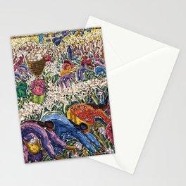 Lor Blanc White Gold by Inji Efflatoun Stationery Cards