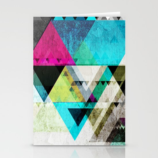 Graphic 4 X Stationery Cards