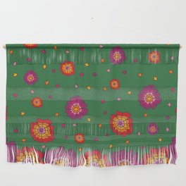 Retro Blooming Wall Hanging