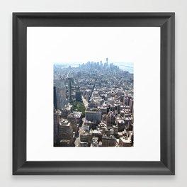 NY, NY Framed Art Print
