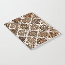 Vintage Mosaic Mandala Pattern Notebook