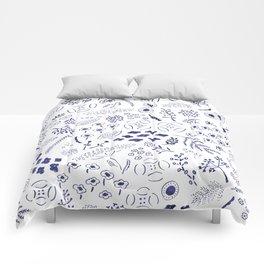 flower garden Comforters