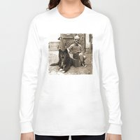 friendship Long Sleeve T-shirts featuring Friendship by Seamless