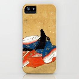 Kano Shōun Immortal Poet iPhone Case