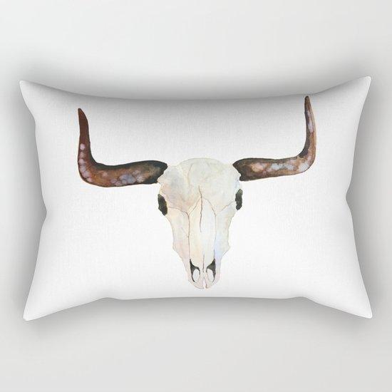 Animal Skull Rectangular Pillow