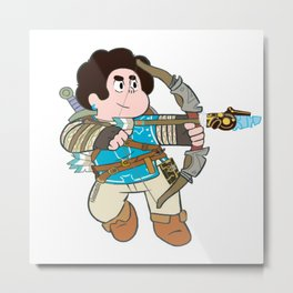 Steven breath of the wild Metal Print
