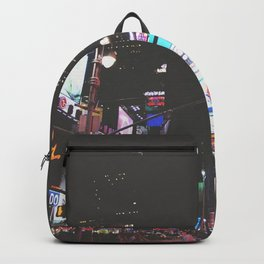 Times Square New York City Backpack