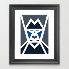 Five Triangle Faces - The Mafioso Framed Art Print