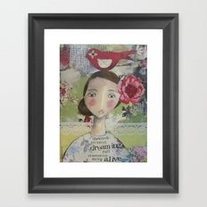 Flower Child Framed Art Print