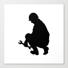 FORMER WORKING CLASS HERO Canvas Print