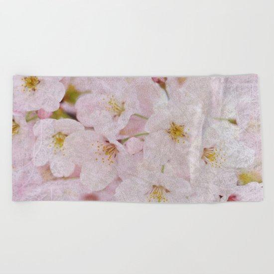 Cherry Blossom #9 Beach Towel