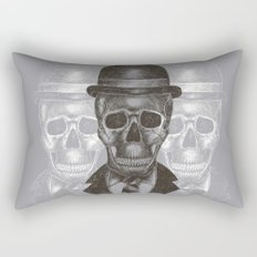 Worked To Death (Grey version) Rectangular Pillow