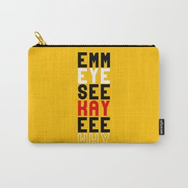 Mickey on Yellow Carry-All Pouch